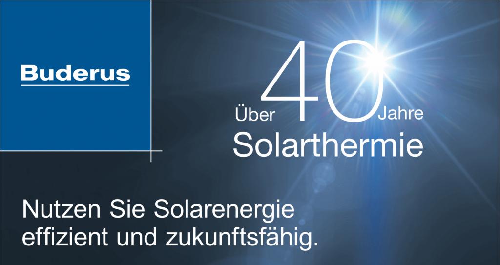 Buderus Solarthermie