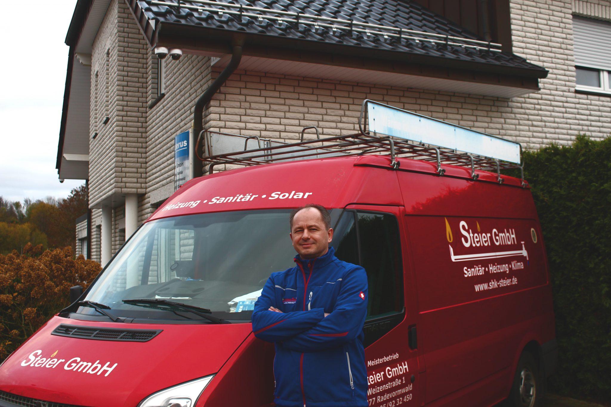 Andreas Steier, der Geschäftsführer der Steier GmbH aus Radevormwald
